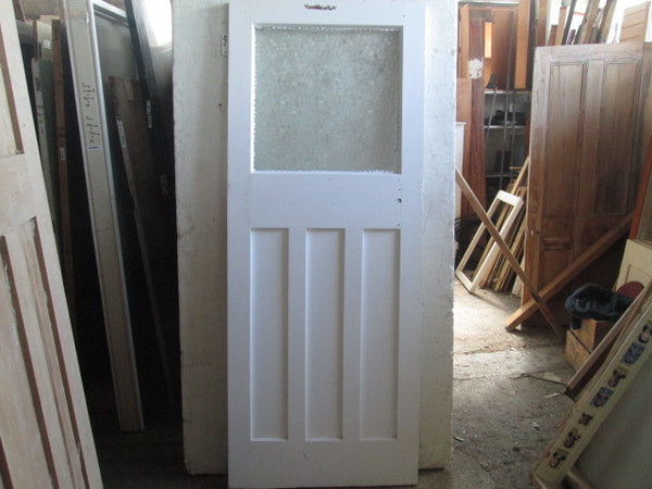 1 Lite Opaque 3 Panel Internal Craftsman Door(2030 x 810)