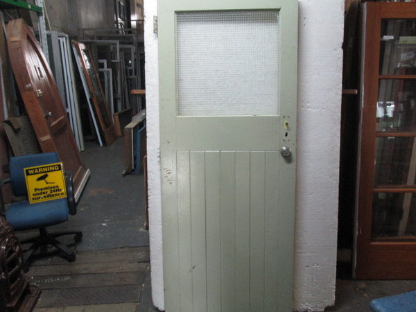 1 Lite Opaque Tongue & Groove Door(1980H x 810W)