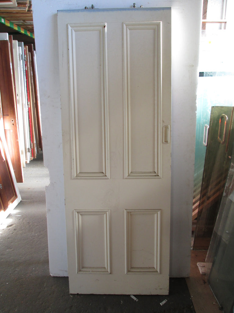 Exterior 4 Panel Statesman Paint Finished Door 1964H x 735W x 45D