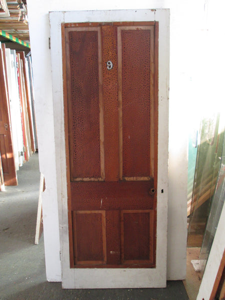 4 Panel Interior Statesman Door with no Mouldings 2020H x 810W x 30D