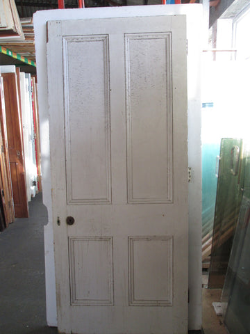 4 Panel Solid Interior Statesman Door 2130H x 910W x 45D