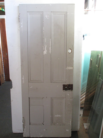 4 Panel Statesman Paint Finished Door 1970H x 760W x 40D