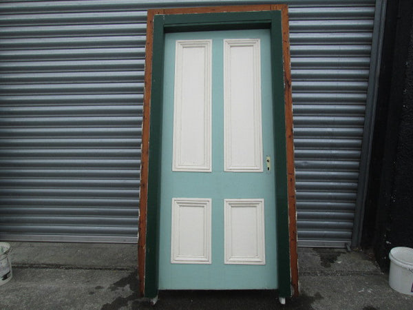External Villa Statesman Door with Frame 2010H x 910W