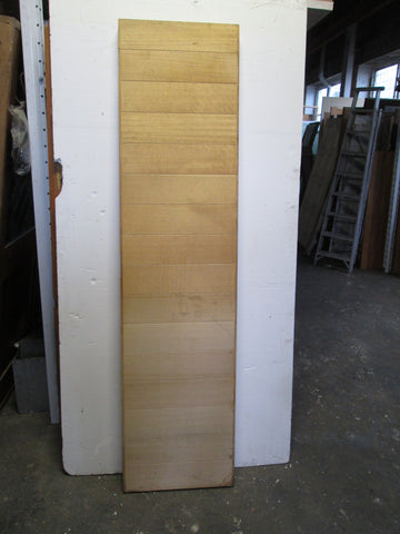 Narrow Timber Vertical T & G Doors 2080H x 515W x 60D