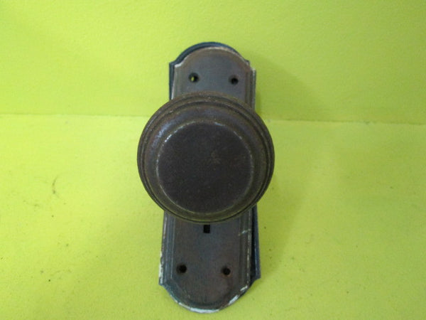 Antique Metal Door & Plate(Knob 60D x 65H/Plate 180L x 60W)
