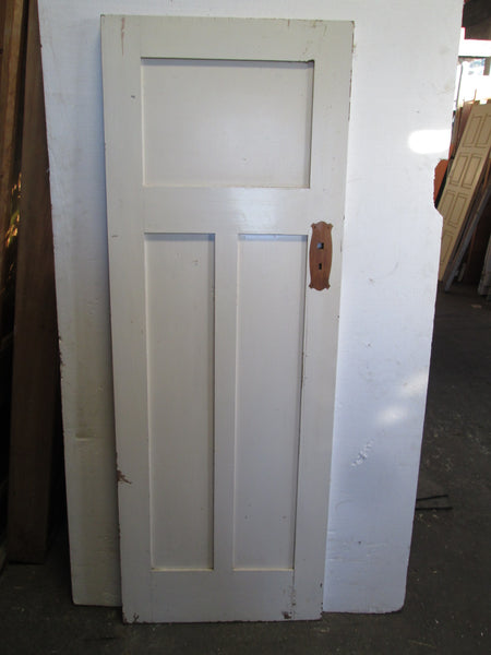3 Panel Hallway  Craftsman Door 1910H x 660W x 30D