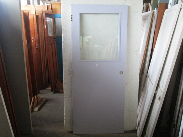 1 Lite Safety Glass Hollow Core Door(1980H x 710W)