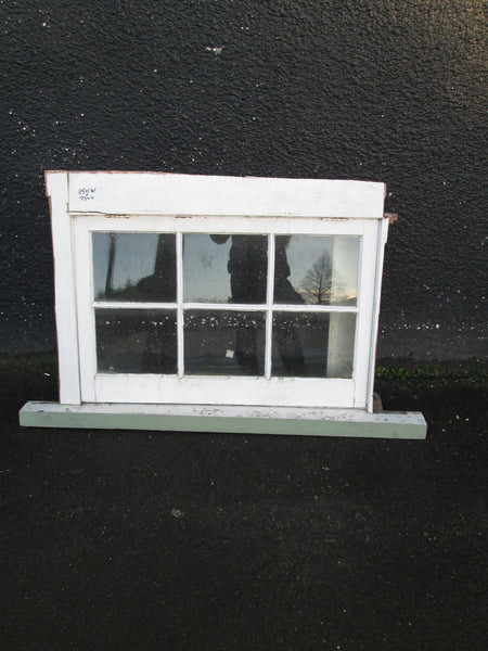6 Lite Colonial Window Top Opening 730H x 1150W