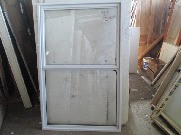 White 2 Lite Aluminum Top Opening Window