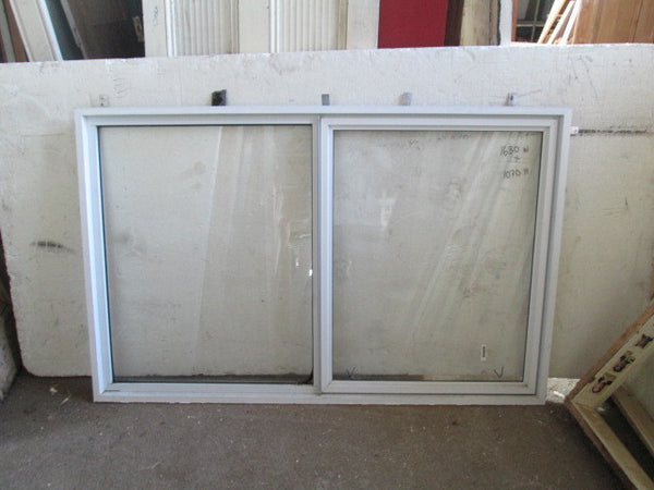 White Aluminum Window - 1070H
