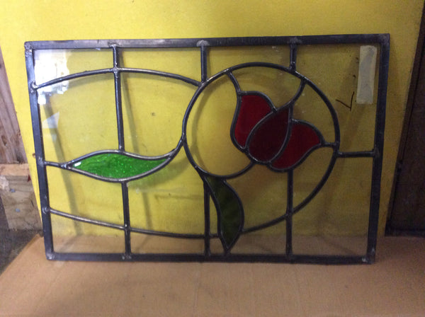 Lead light Panel with Tulip(Small)