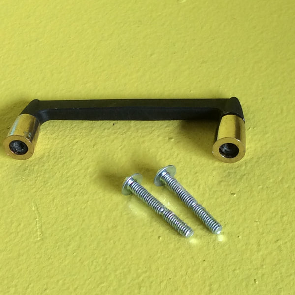 Retro Black & Gold Pull Handles