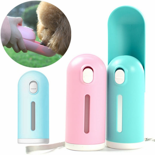 300ml Portable Pet Dog Water Bottle For Small Dogs