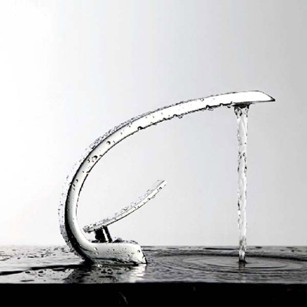 bathroom basin hot and cold faucet basin  KF331