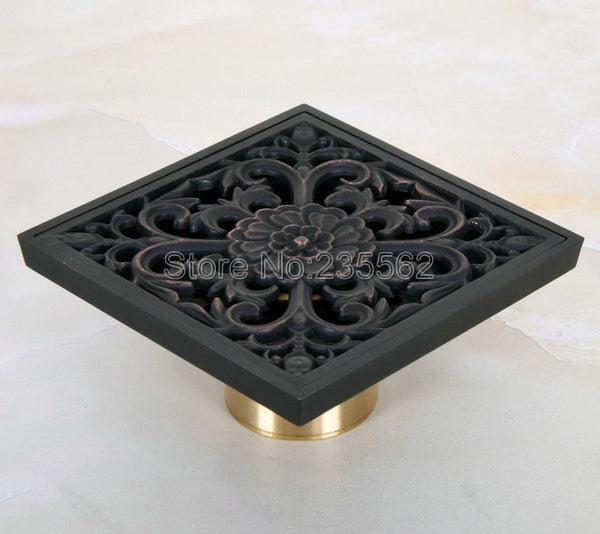 Black Oil Rubbed Brass  Bathroom  Drain Strainer  lhr049