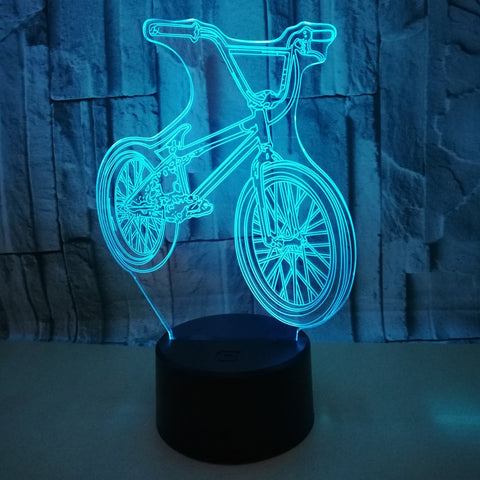 Mountain Bike 3D LED Nightlight