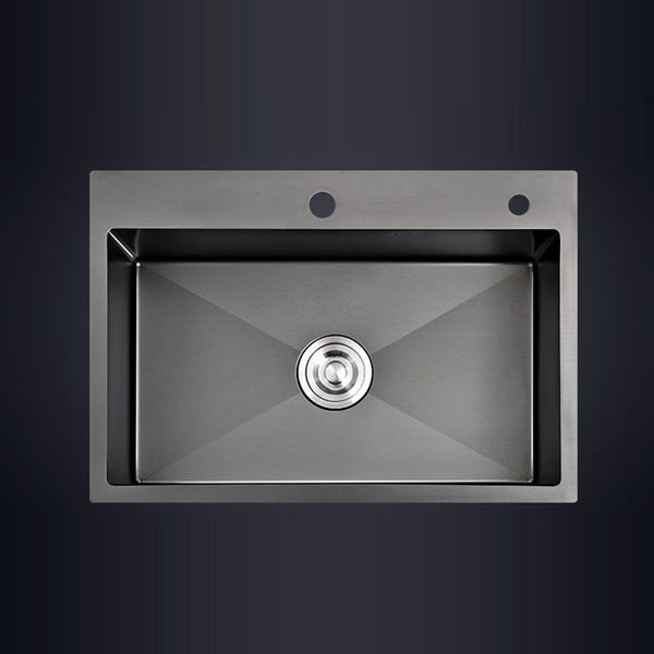 Black sink kitchen black stainless steel