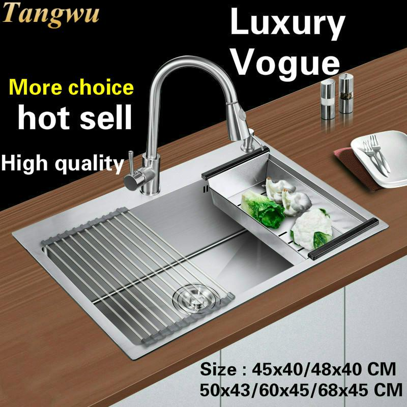 Kitchen Food Grade Stainless Steel Single Sink