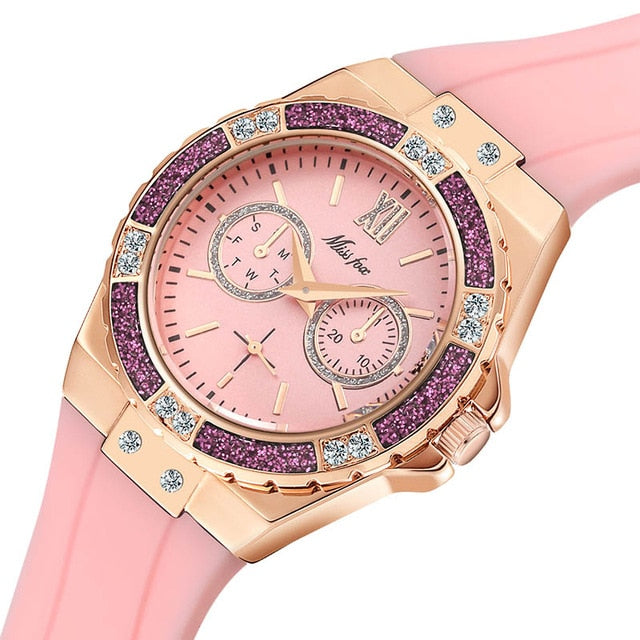 Chronograph  Sport Analog watch for Woman