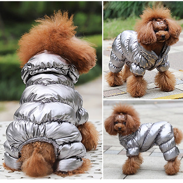 Winter Super Warm Waterproof Down Jacket For Small Dogs