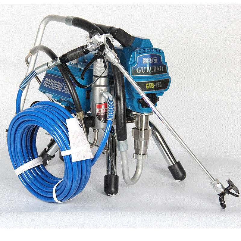 Professional airless spraying machine