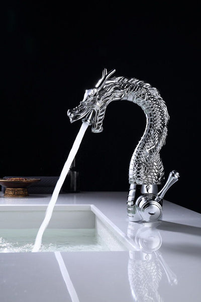 Chrome Finish Single Hole Dragon Faucet Mixer Tap