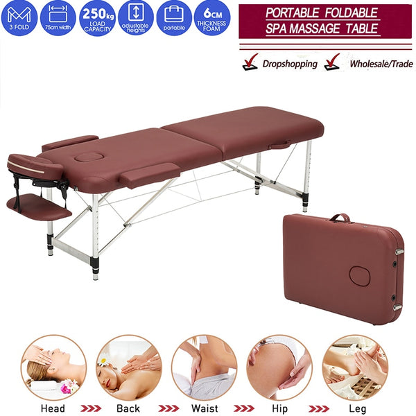 Professional Portable Spa Massage Tables with Bag