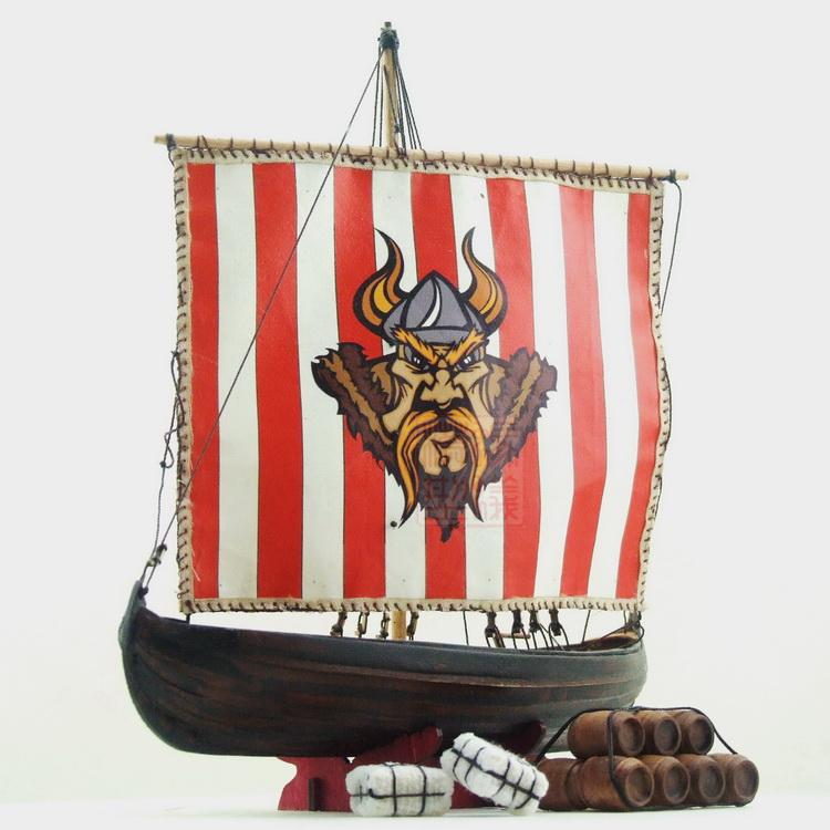 NIDALE model Sacle 1/72 Northern Europe Classic Viking ships wooden model