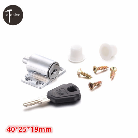 2 Set Windows Door Anti-theft Lock 40*25*19mm Doors&Windows Shield Sliding Aluminum Alloy Safety Security Locks+Screw