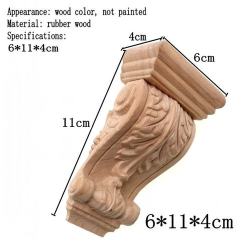 Decorative Corbel Applique Craft Home Decor