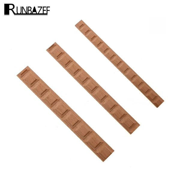 RUNBAZEF Wood Carving Solid Furniture Edge Border Square Line