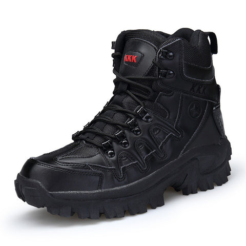 Men High Quality Leather Boots for Boats Hiking & Snow