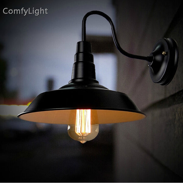 Vintage waterproof outdoor wall lamp sconce retro home Decor
