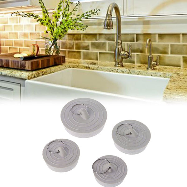 Rubber Sink Drain Plug With Hanging Ring
