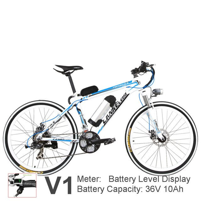 21 Speed, 26 inches 240W, Aluminium Alloy Frame, Electric Mountain Bike
