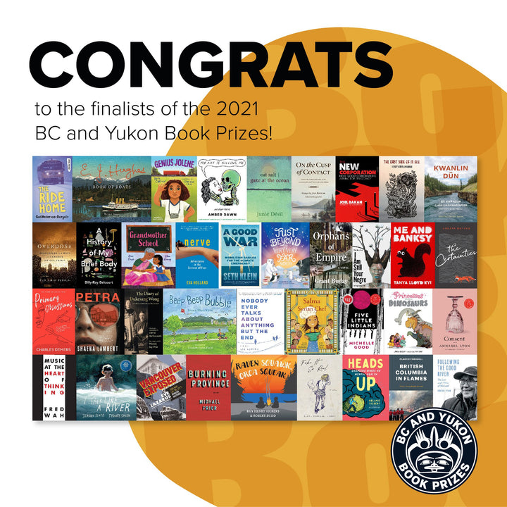 BC and Yukon Book Prizes' 2021 Finalists