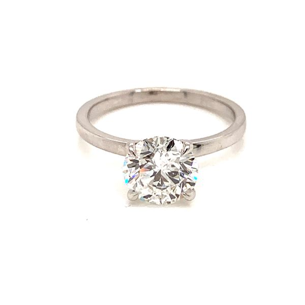 2 Carat Solitaire Diamond Engagement Ring