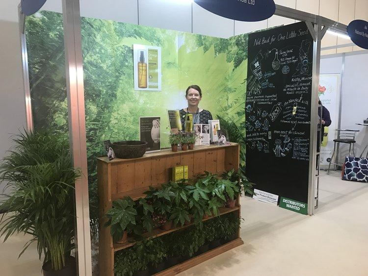 Bringing the Amazon to London's Excel for The Natural and Organic Products Show