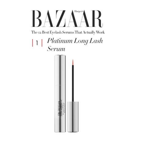 Bazaar - platinum long lash feature