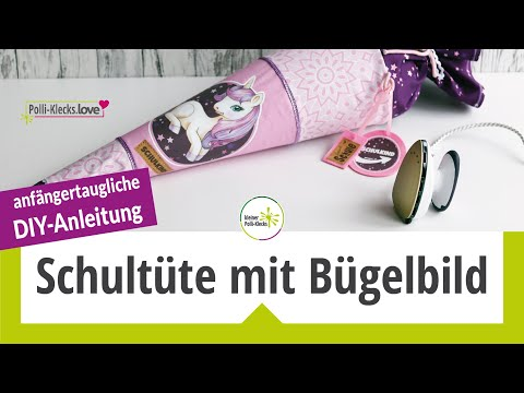 "Bügelbilder Set - ""Gloria Glitzerhuf"""