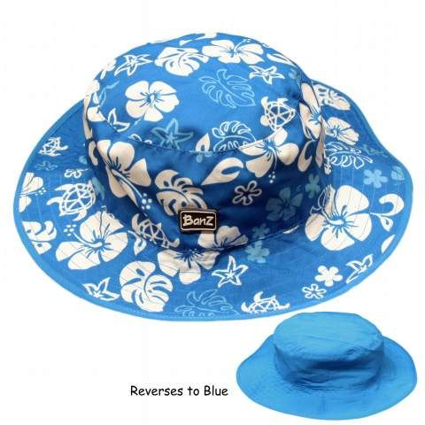 Banz Reversible Hats - Blue / Blue White