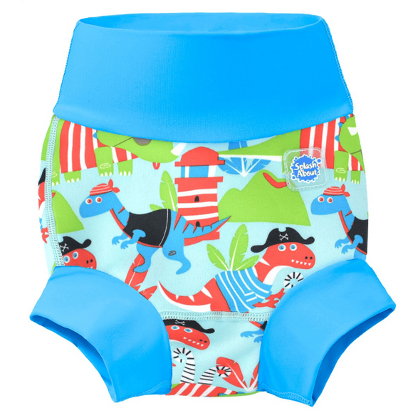 Splash About Happy Nappy Swim Nappy - Dino Pirates