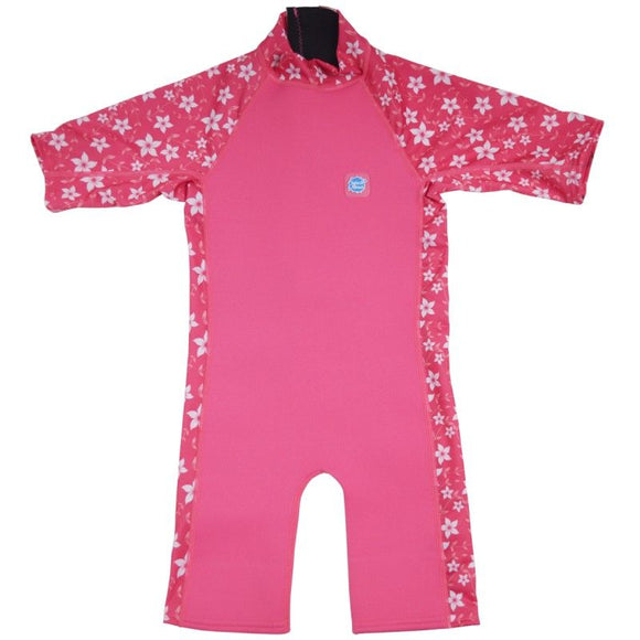 Splash About UV Sun and Sea Wetsuit - Pink Blossom - Clearance