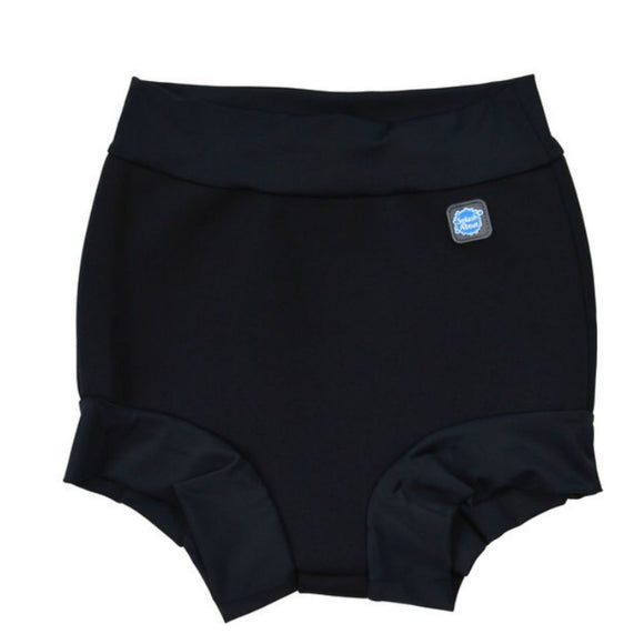 Splash About Splash Shorts - Adult Disability - Black with Black Rib