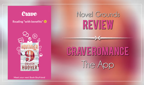 Crave, The Hottest New App in the Book World.