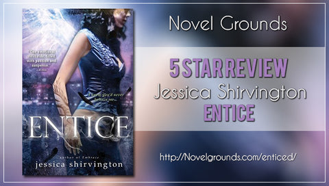 Enticed by Jessica Shirvington (Violet Eden #2)