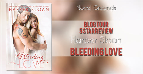 Bleeding Love by Harper Sloan