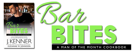 Bar Bites! Books and Cooking with J. Kenner and Suzanne M. Johnson