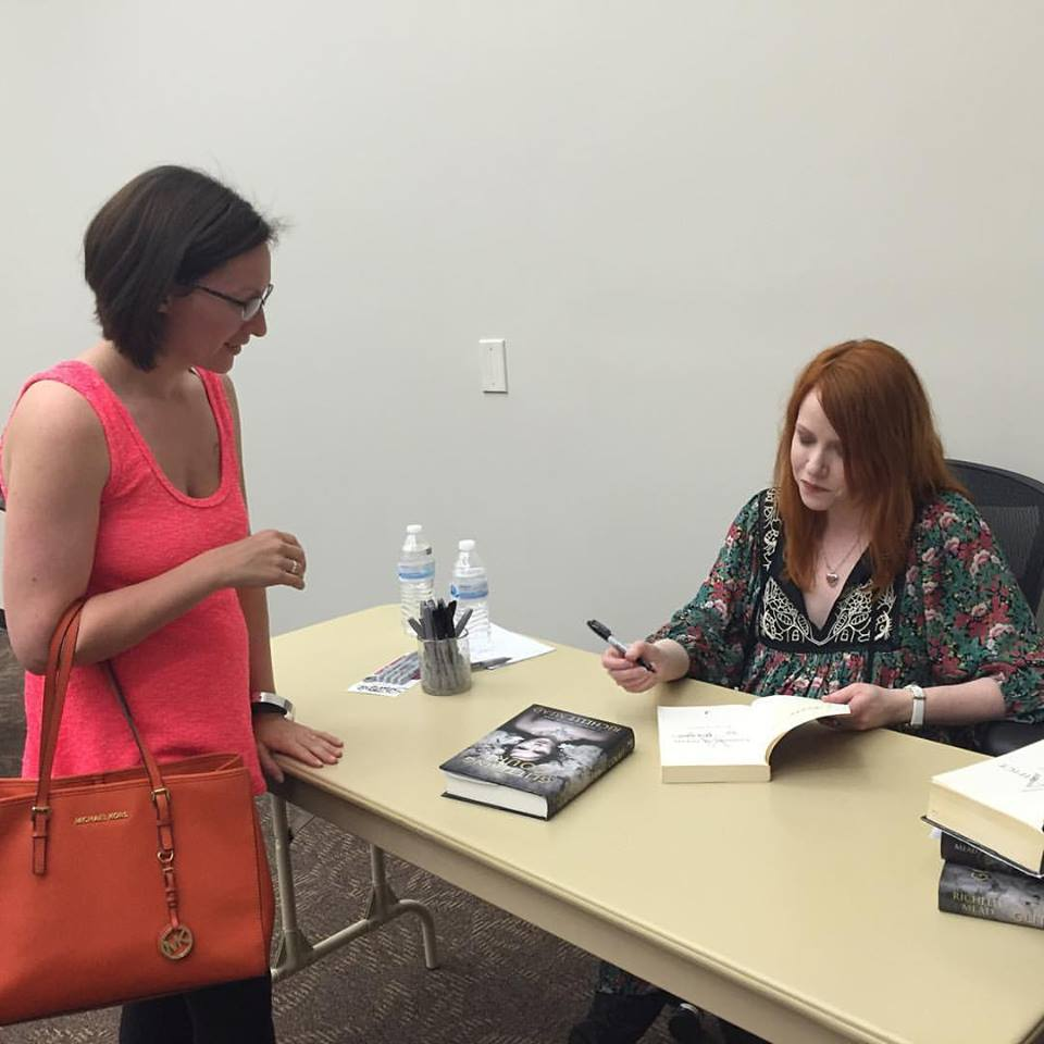 Richelle and I at the book signing in Castle Rock, Colorado.
