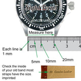 Stainless Steel Replacement Watch Band for Omega Seamaster